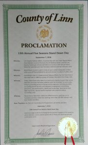 Linn County Proclamation